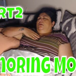 Snoring Mom Sleeping Series pt2