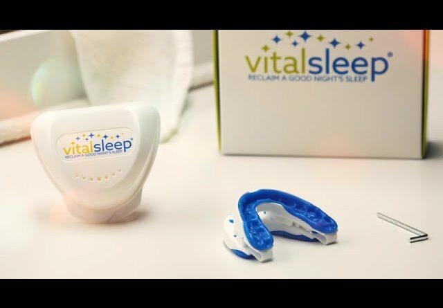עצור נחירה עם התקן נגד נחירה Vital Sleep